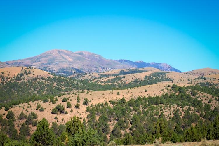 The Owyhee Mountains of southwest Idaho.